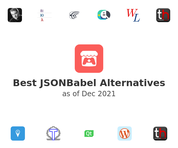 Best JSONBabel Alternatives