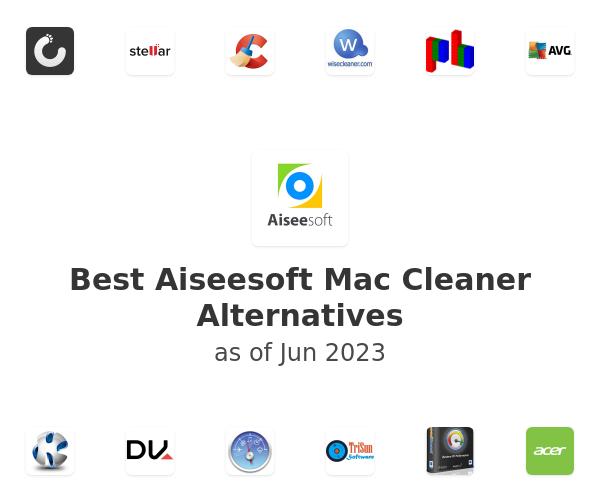 Best Aiseesoft Mac Cleaner Alternatives