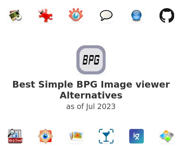 Best Simple BPG Image viewer Alternatives