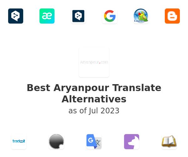 Best Aryanpour Translate Alternatives