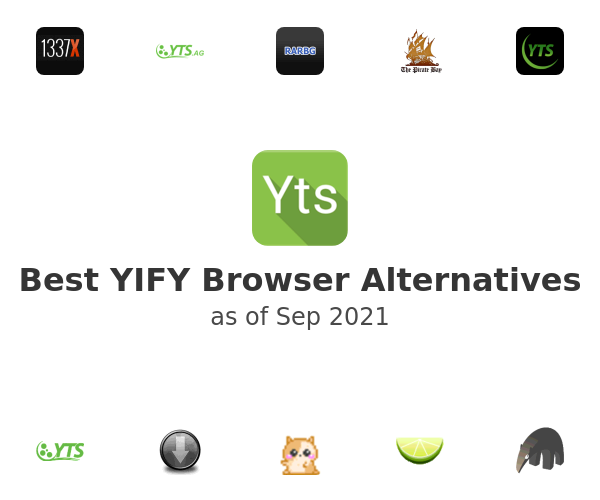 Best YIFY Browser Alternatives