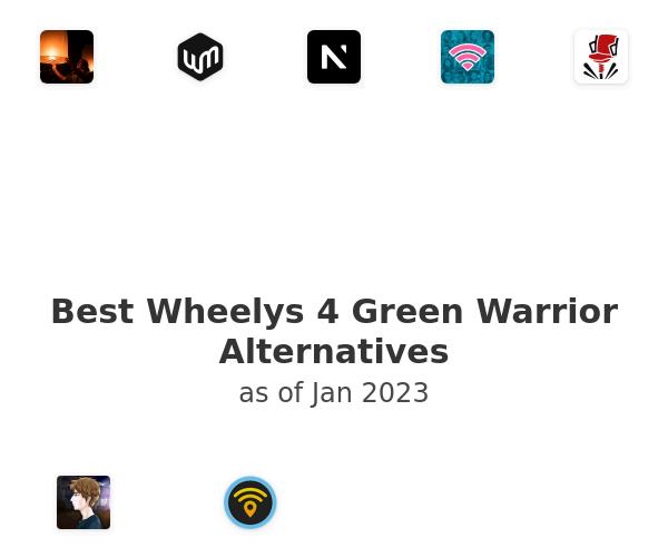 Best Wheelys 4 Green Warrior Alternatives