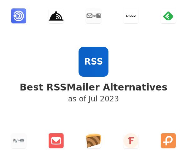 Best RSSMailer Alternatives