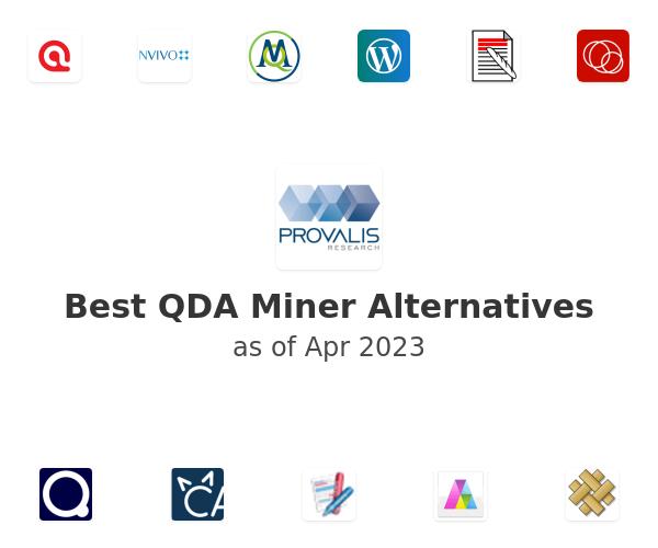 Best QDA Miner Alternatives