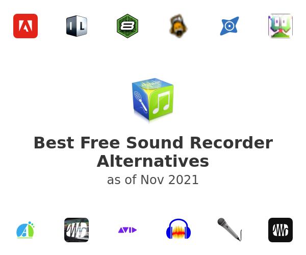Best Free Sound Recorder Alternatives