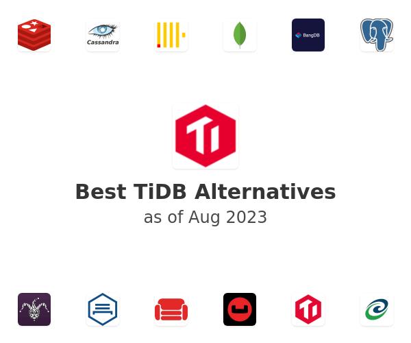 Best TiDB Alternatives