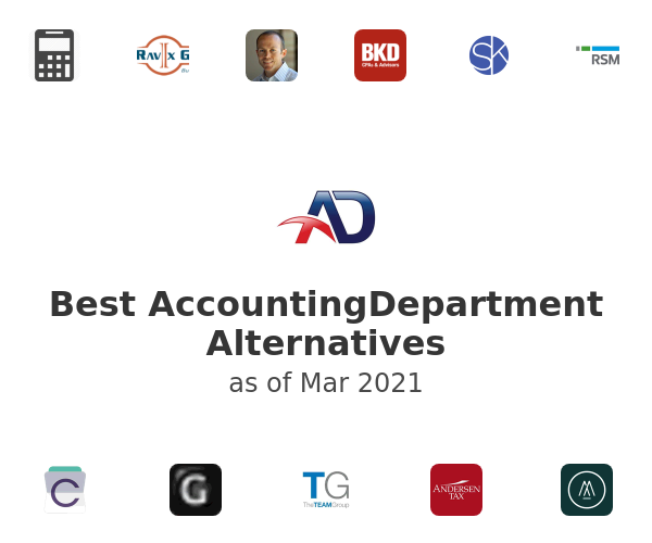Best AccountingDepartment Alternatives