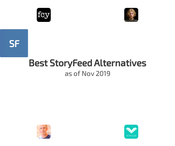 Best StoryFeed Alternatives