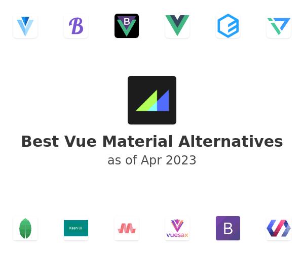 Best Vue Material Alternatives