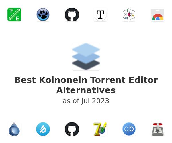 Best Koinonein Torrent Editor Alternatives