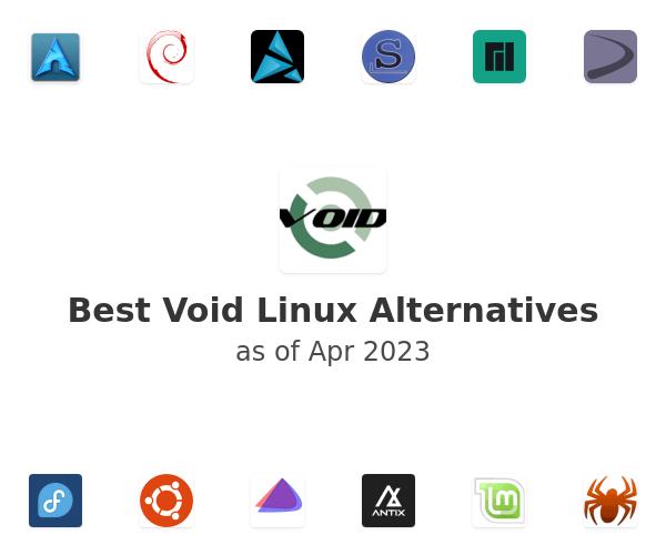 Best Void Linux Alternatives