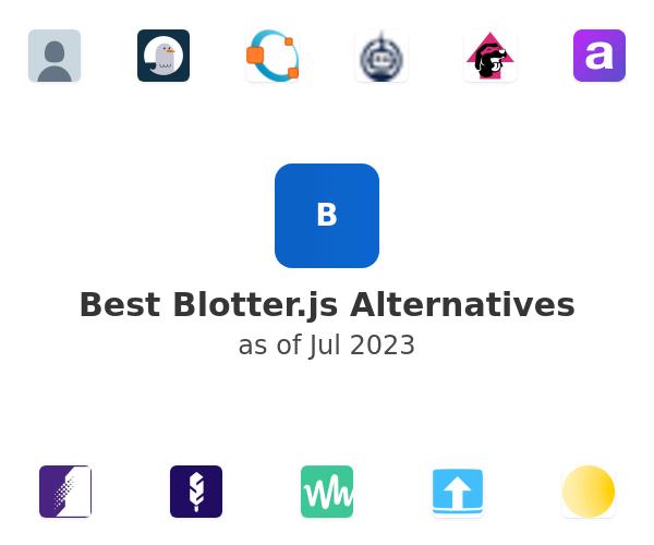 Best Blotter.js Alternatives
