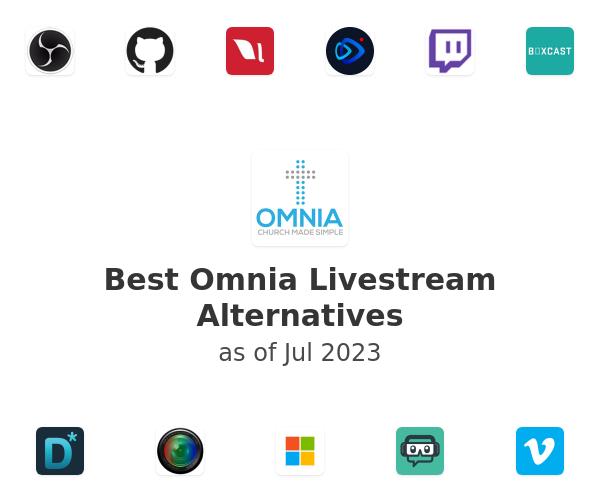 Best Omnia Livestream Alternatives