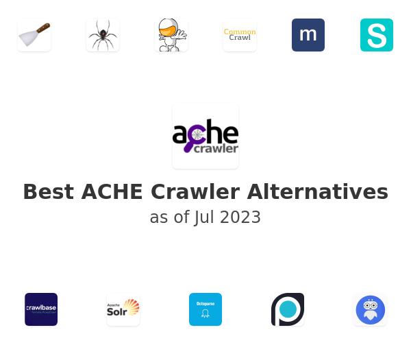 Best ACHE Crawler Alternatives