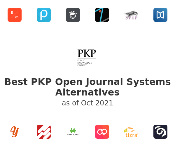 Best PKP Open Journal Systems Alternatives