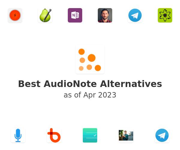 Best AudioNote Alternatives