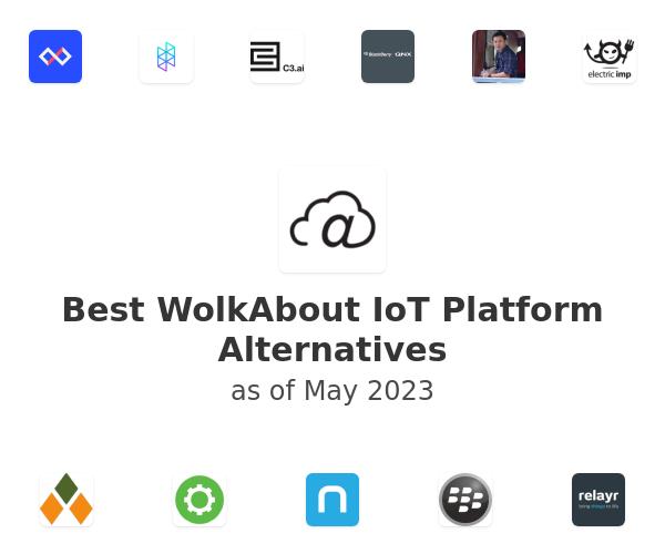Best WolkAbout IoT Platform Alternatives