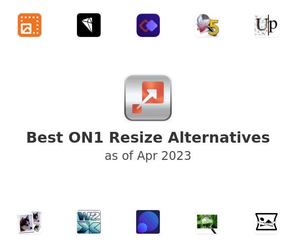 Best ON1 Resize Alternatives