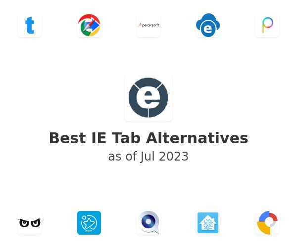 Best IE Tab Alternatives
