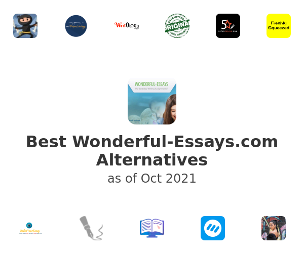 Best Wonderful-Essays.com Alternatives