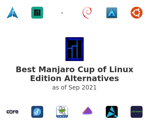 Best Manjaro Cup of Linux Edition Alternatives