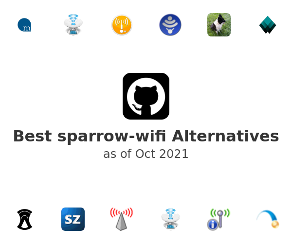 Best sparrow-wifi Alternatives