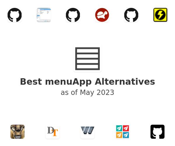 Best menuApp Alternatives