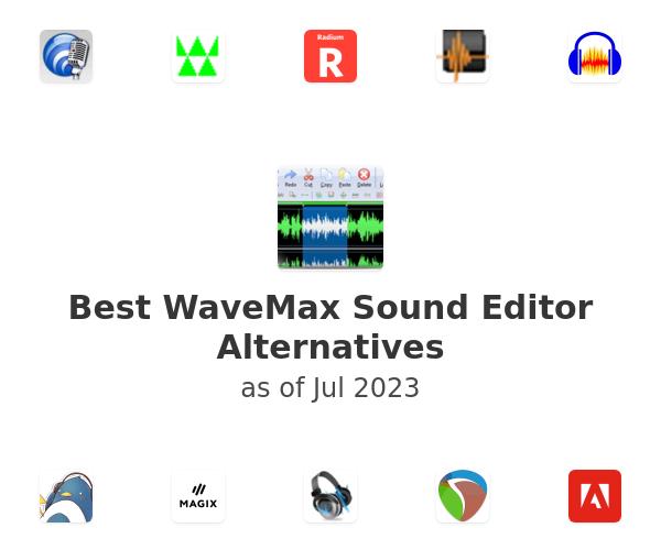 Best WaveMax Sound Editor Alternatives