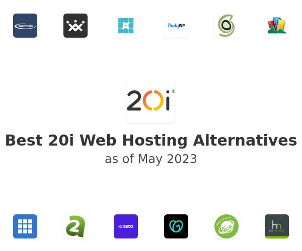 Best 20i Web Hosting Alternatives