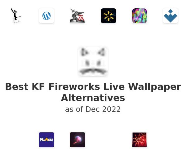 Best KF Fireworks Live Wallpaper Alternatives