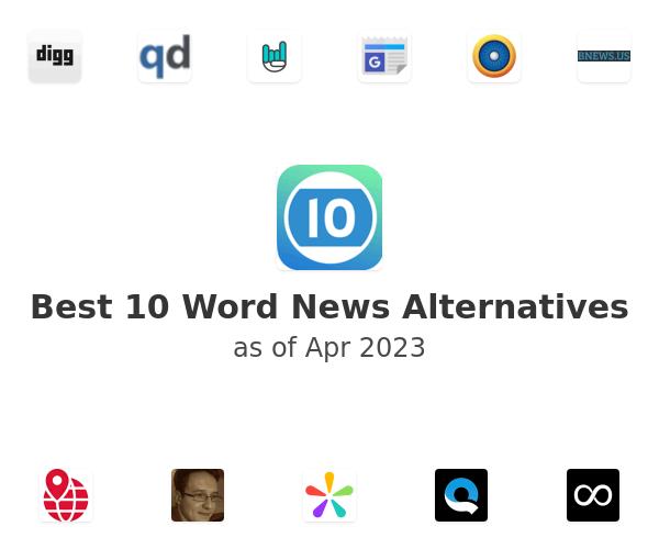 Best 10 Word News Alternatives