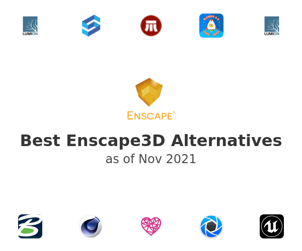 Best Enscape3D Alternatives
