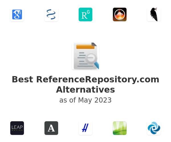 Best ReferenceRepository.com Alternatives