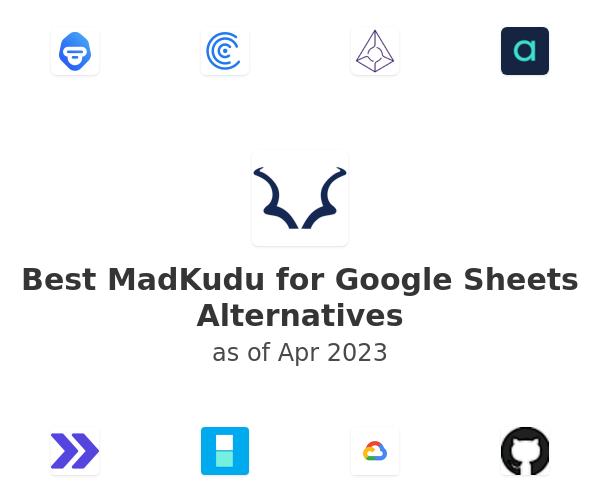 Best MadKudu for Google Sheets Alternatives