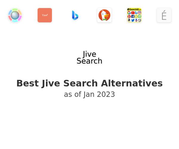 Best Jive Search Alternatives
