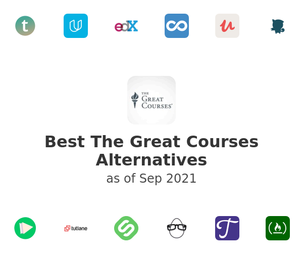 Best The Great Courses Alternatives