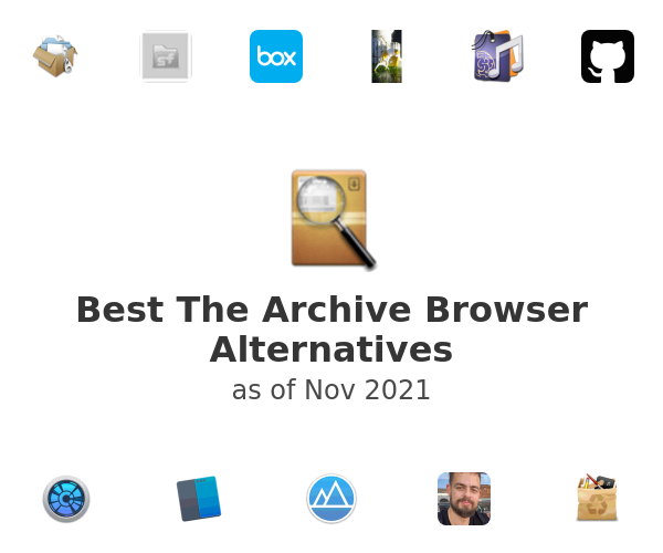 Best The Archive Browser Alternatives