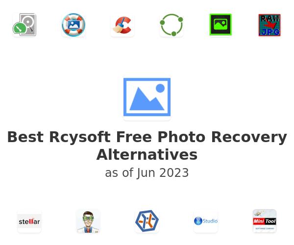 Best Rcysoft Free Photo Recovery Alternatives
