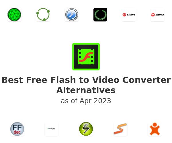 Best Free Flash to Video Converter Alternatives