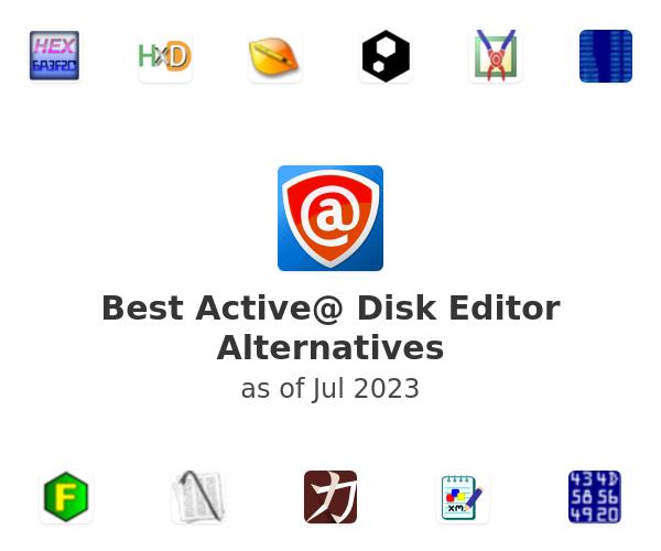 Best Active@ Disk Editor Alternatives