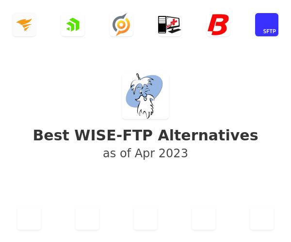 Best WISE-FTP Alternatives