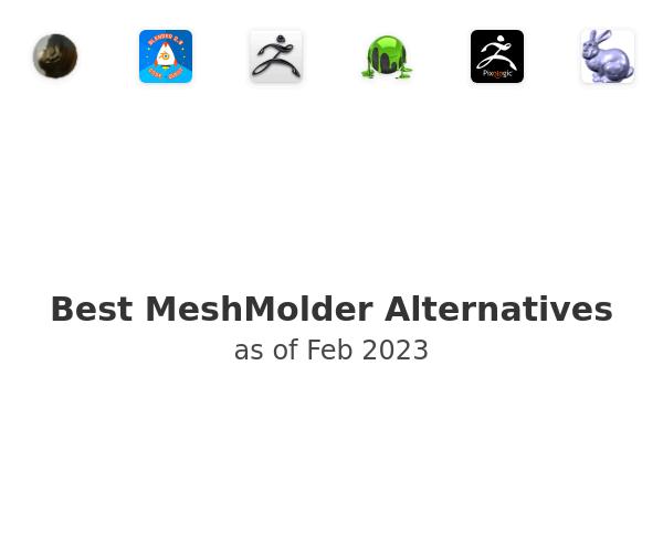Best MeshMolder Alternatives