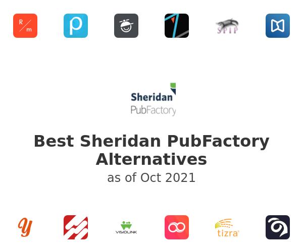 Best Sheridan PubFactory Alternatives