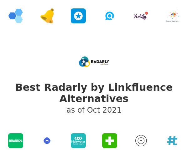 Best Radarly by Linkfluence Alternatives