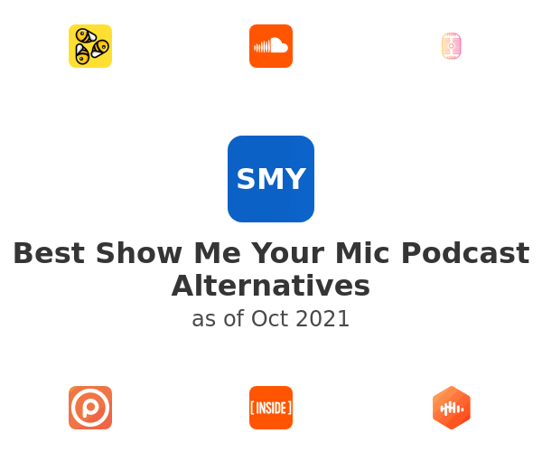 Best Show Me Your Mic Podcast Alternatives