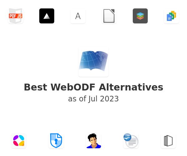 Best WebODF Alternatives