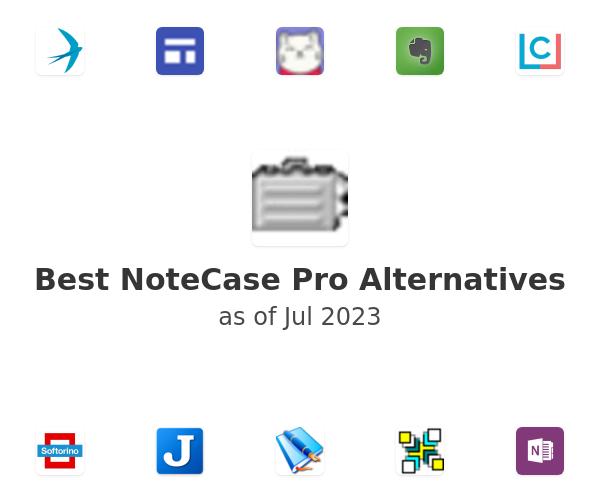 Best NoteCase Pro Alternatives