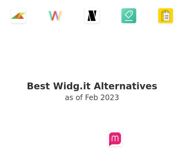 Best Widg.it Alternatives