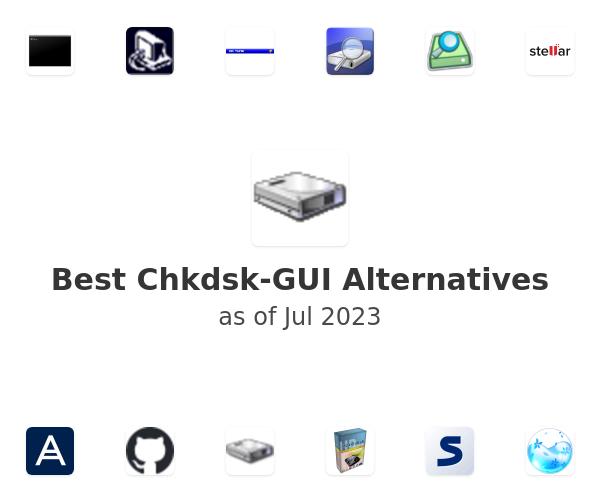 Best Chkdsk-GUI Alternatives