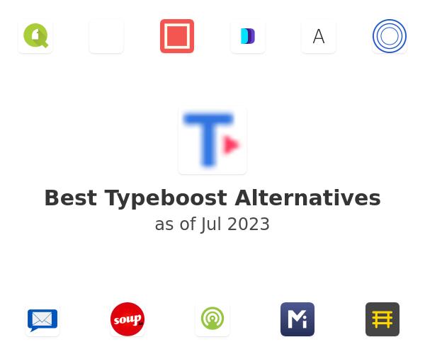 Best Typeboost Alternatives